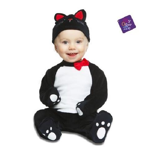Disfraz gato negro bebé
