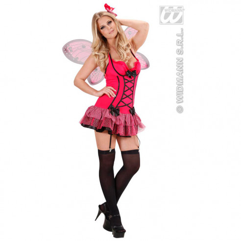 Disfraz Mariposa Fucsia