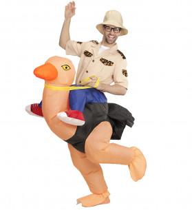 Disfraz explorador montando...