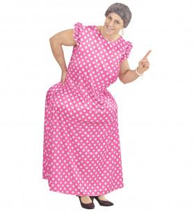 Disfraz de abuela para hombre