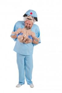 Disfraz de bebé para adulto...