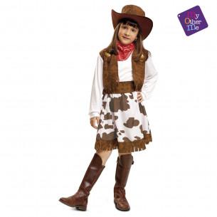Disfraz vaquera niña
