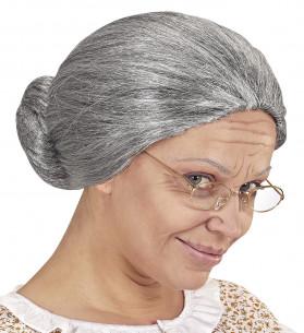 Peluca de anciana