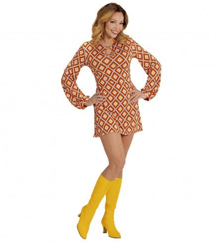 Disfraz mujer años 70