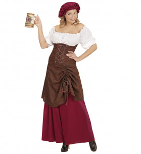 Disfraz mesonera medieval