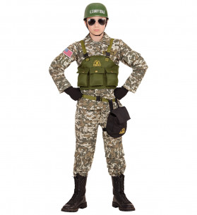 Disfraz militar niño