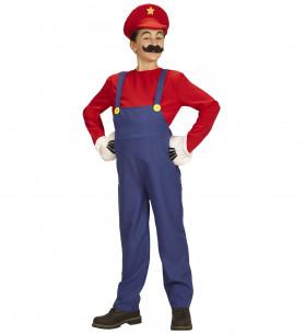 Disfraz de Super Mario niño