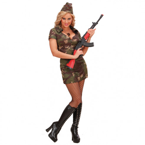 Disfraz Militar Mujer