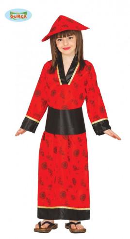 Disfraz de china para niña