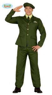 Disfraz de militar alto rango