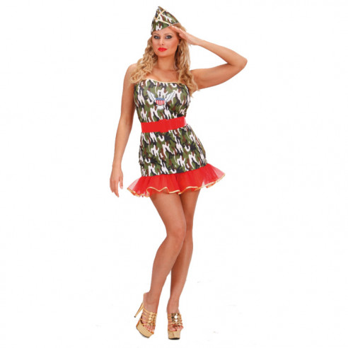 Disfraz Lady Soldado