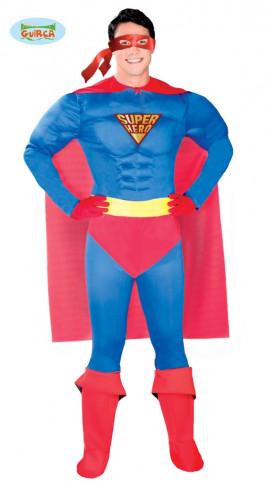 Disfraz superhéroe musculoso