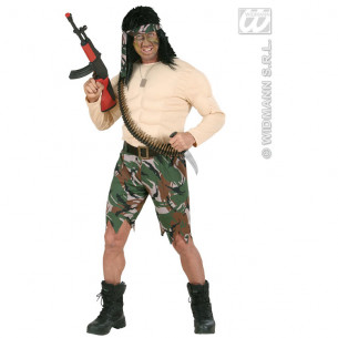 Disfraz Soldado Musculoso