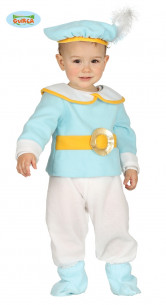 Disfraz príncipe azul bebé