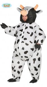 Disfraz vaca hinchable adulto