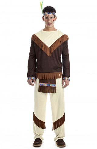 Disfraz de indio apache