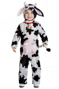 Disfraz de vaca para niño