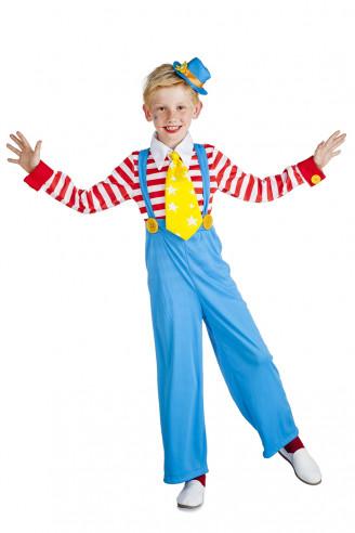 Disfraz de payaso para niño a rayas