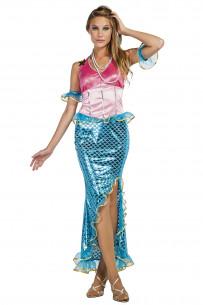 Disfraz sirena mujer