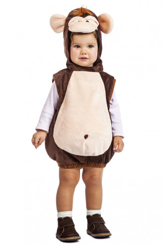 Disfraz mono bebé