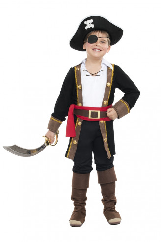 Disfraz corsario niño