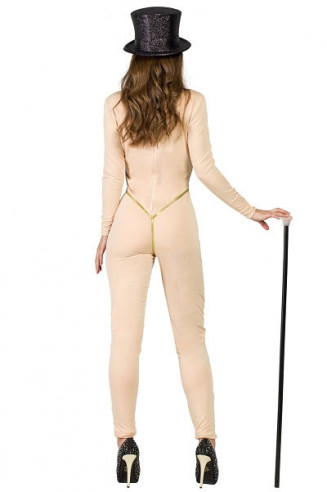Disfraz mujer desnuda