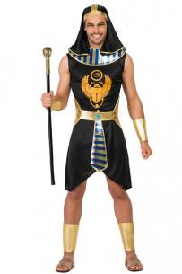 Disfraz faraón egipcio negro