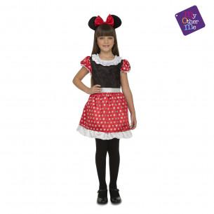 Disfraz Minnie Mouse niña