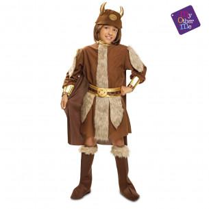 Disfraz vikingo para niño
