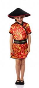 Disfraz china niña barato