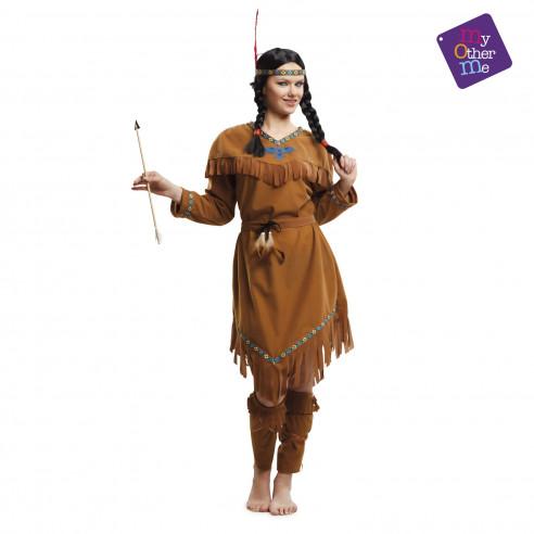Disfraz de india adulta