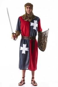 Disfraz cruzado medieval...