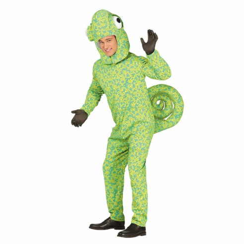 Disfraz de camaleón adultio