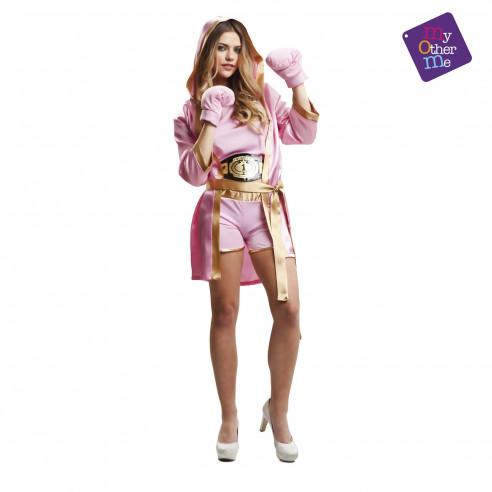 Disfraz boxeadora mujer