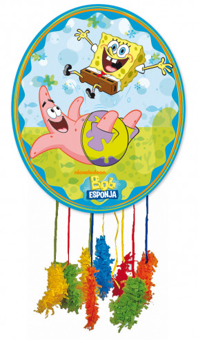 Piñata Cumpleaños Grande Bob Esponja...