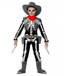 Disfraz de Esqueleto Cowboy