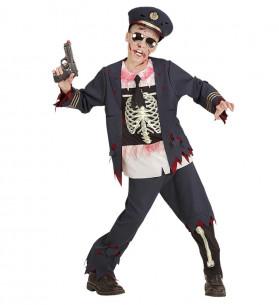 Disfraz Policia Zombie...