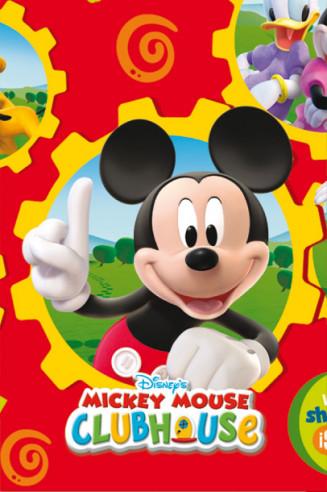20 servilletas cumpleaños Mickey Club...