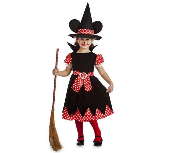 Disfraz Minnie brujita niña