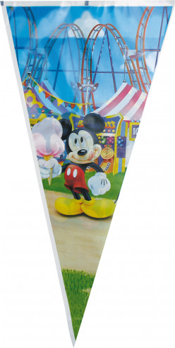 100 Bolsas cumpleaños Gigantes Mickey
