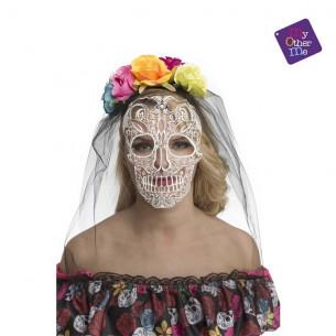 Velo novia día de los muertos