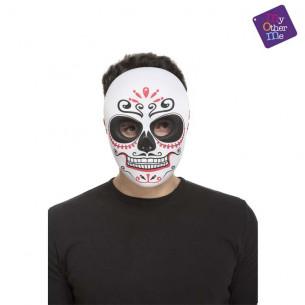 Máscara mexicana día de los...