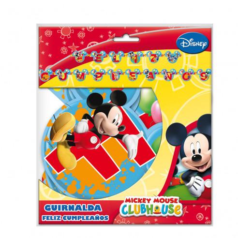 Guirnalda Feliz Cumpleaños Mickey