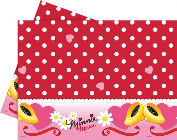 Mantel cumpleaños Minnie 120x180cm