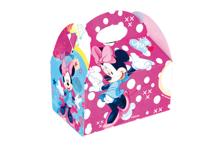 36 Cajitas cumpleaños Minnie Mouse