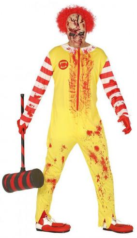 Disfraz Ronald McDonald Zombie
