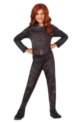 Disfraz Viuda Negra Marvel niña