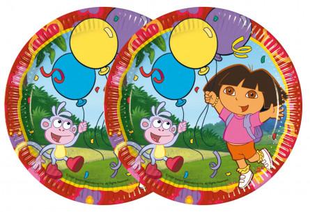10 platos cumpleaños Dora...