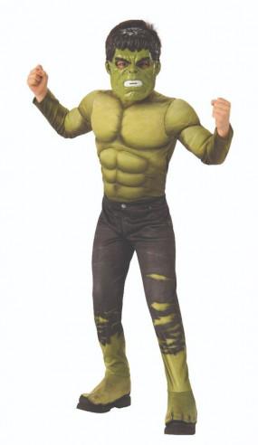 Disfraz Hulk Infinity War Deluxe niño