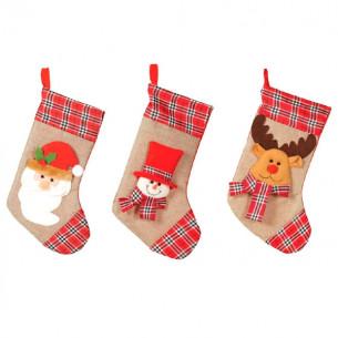 Calcetines chimenea Navidad